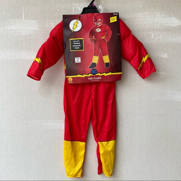 DC Comics The Flash Muscle Chest Costume